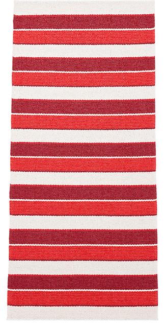 Tore Vinyl Floor Cloth, Red, 150x240 cm