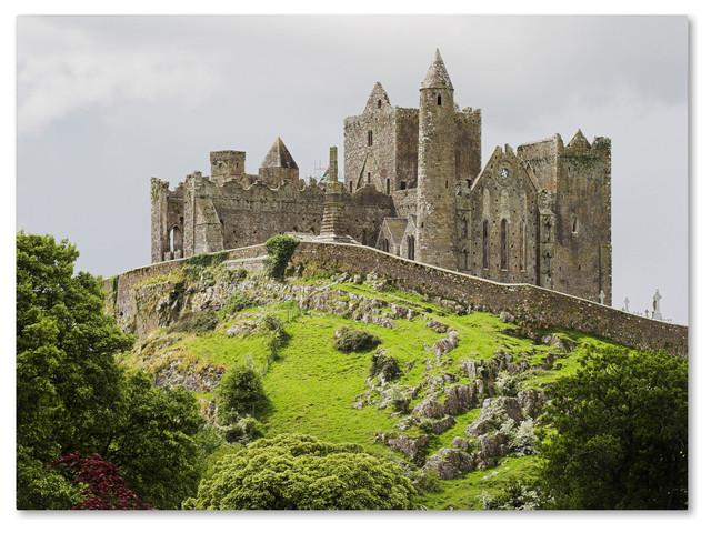 &x27;rock Of Cashel Ireland&x27; Canvas Art By Pierre Leclerc.