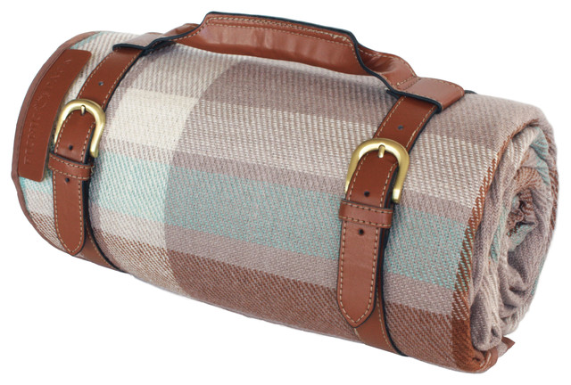 Picnic Pack Picnic Blanket Water Resistant with Carry On Handle - 26022