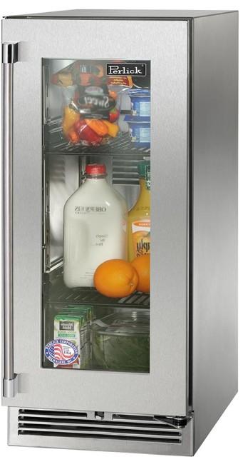 "Perlick Signature Series 15"" Built-In Undercounter Refrigerator, Right Hinge."