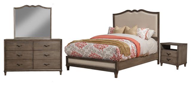 Alpine Corporation Alpine Charleston Bedroom Set Furniture Houzz