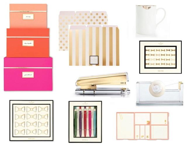 Lovely Rachel George Deluxe Office Set By Kate Spade, Reiko Kaneko And Russell +  Hazel