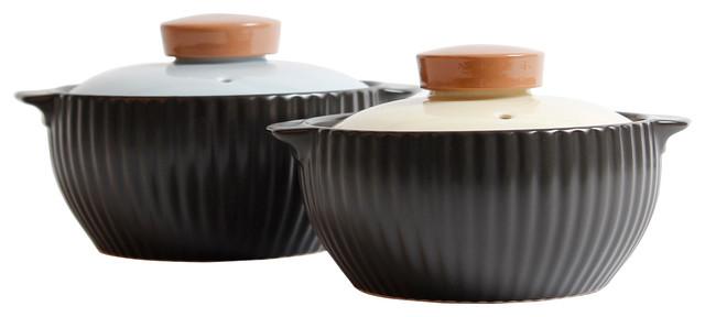 Mystique 4-Piece Ceramic Stovetop Cookware Set.