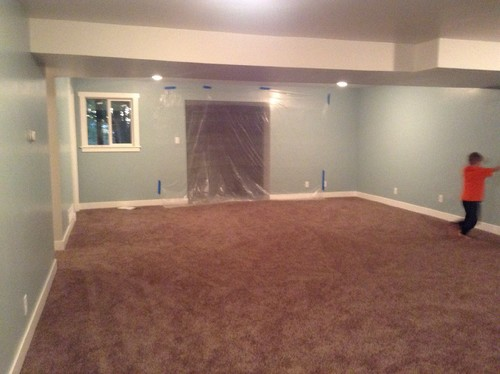 Help Carpet Is Too Dark Kids Basement Rec Room