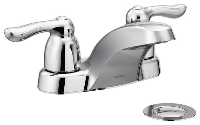 Moen Cau Chrome 2 Handle Low Arc, Moen Chrome Bathroom Faucet