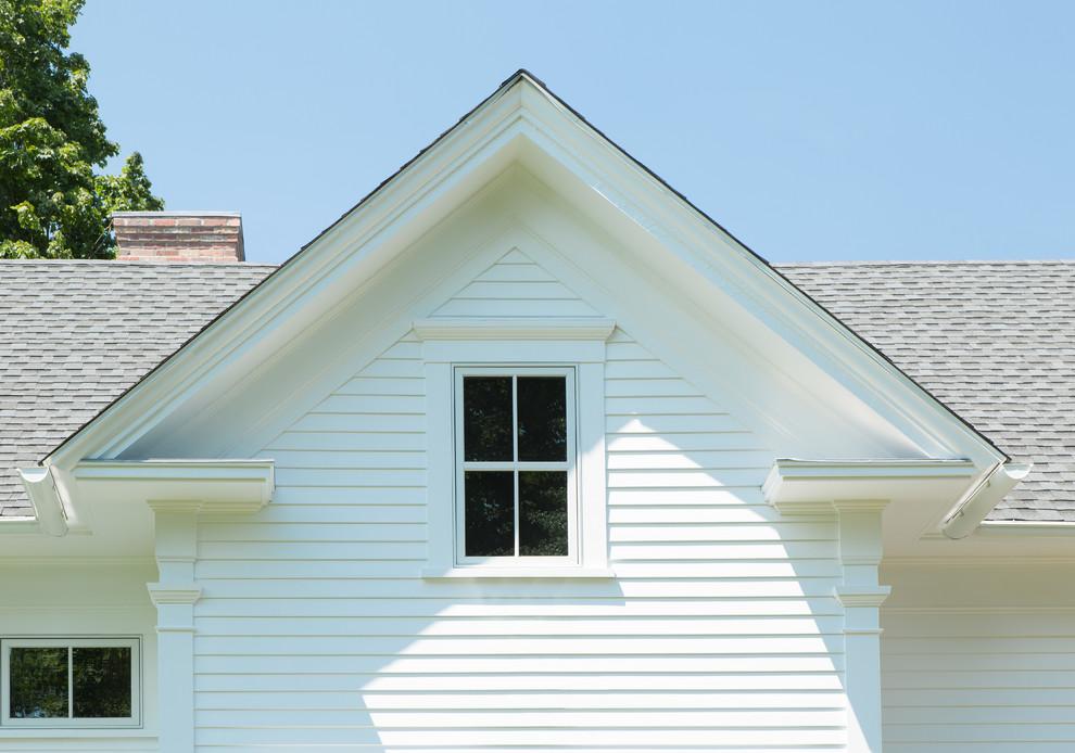 Home design - cottage home design idea in Providence