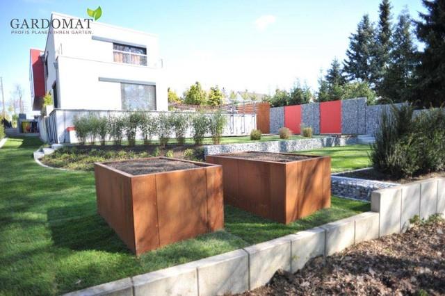 Moderne Gartengestaltung - Modern - Dresden - Von Gardomat - Die