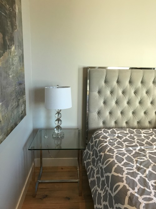 bedside table lamp height? How Tall Should a Bedside Table Be