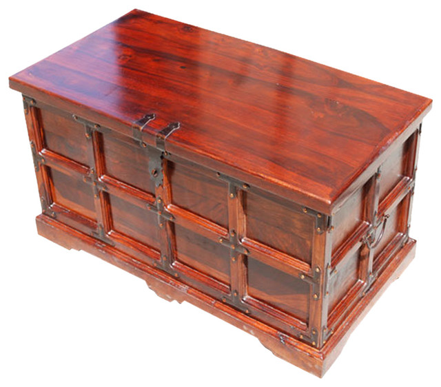 Beaufort Kokanee Mission Solid Wood Storage Chest
