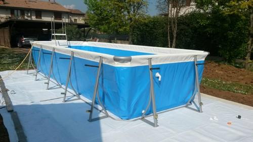 Piscine Acquafert Divisione Pool - Piscina Fuori Terra Rivestita In ...