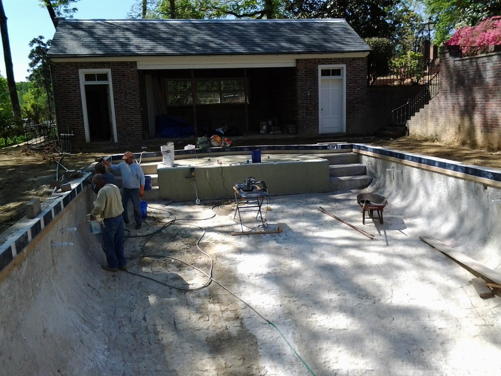 CONSTRUCTION Greensboro Pool Decorative Tile Renovation