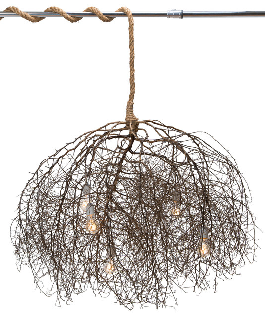 The native chandelier rustic chandeliers by same tree the native chandelier natural aloadofball Gallery