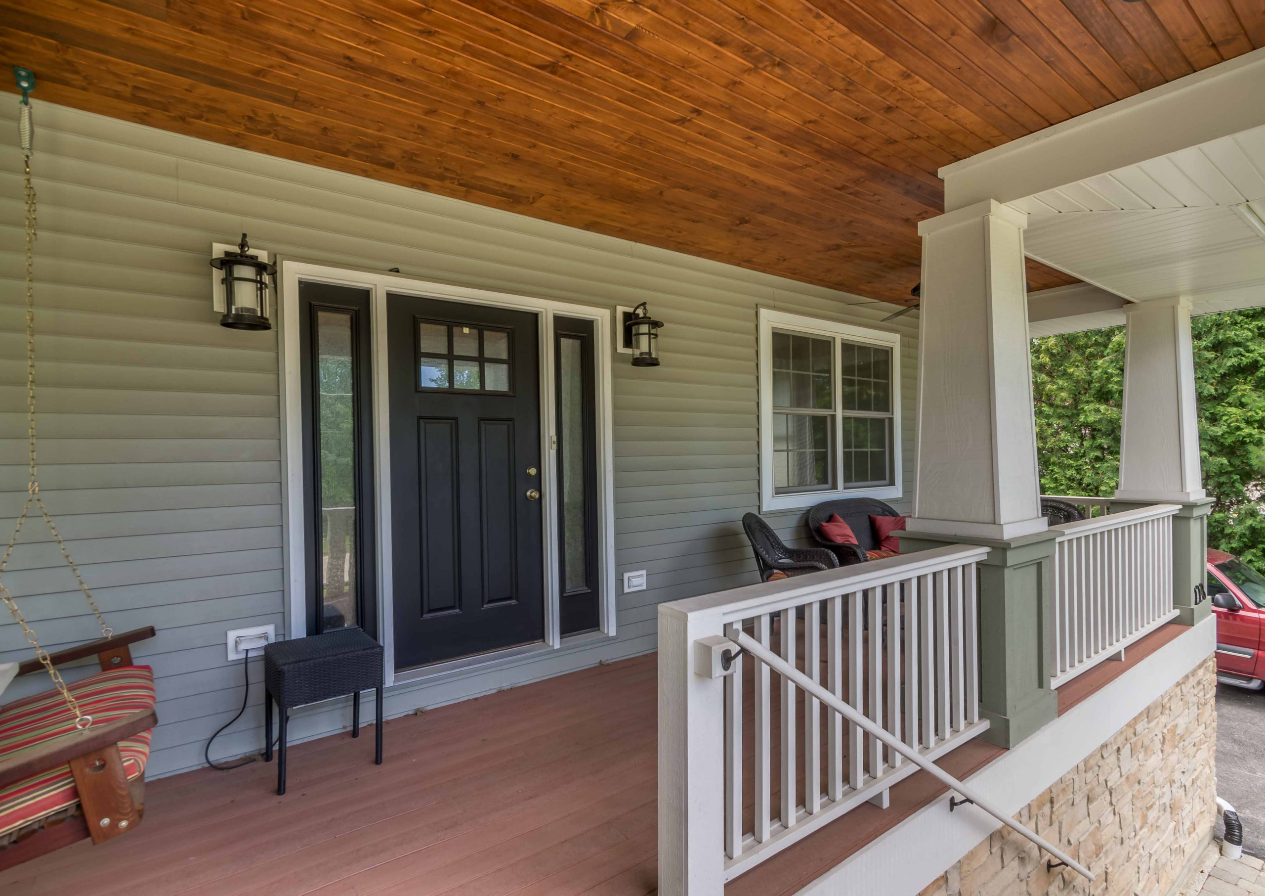 Craftsman Front Porch Addition