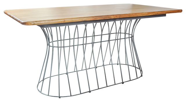 Cage Rectangular Dining Table