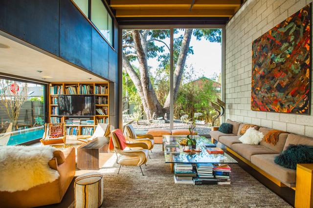 Houzz tv una casa fascinante en los ngeles inspirada en frica - Idea casa biancheria mestre ...