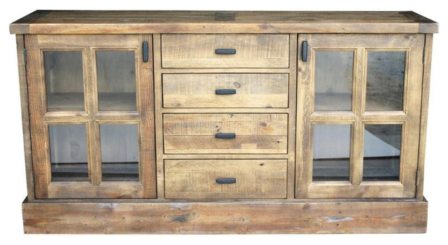 Bavaria Harvest Reclaimed Wood Buffet rustic-buffets-and-sideboards - Bavaria Harvest Reclaimed Wood Buffet