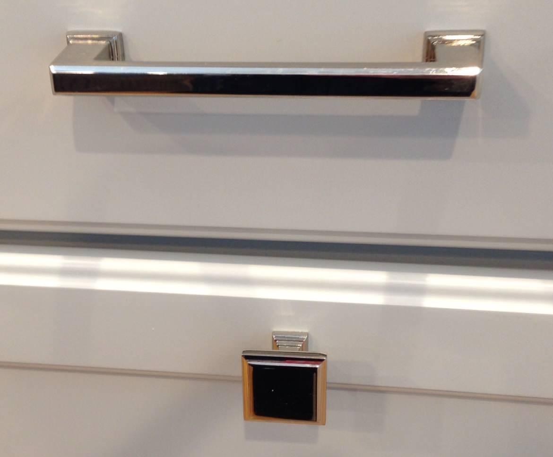 Polished Chrome Cabinet hardware