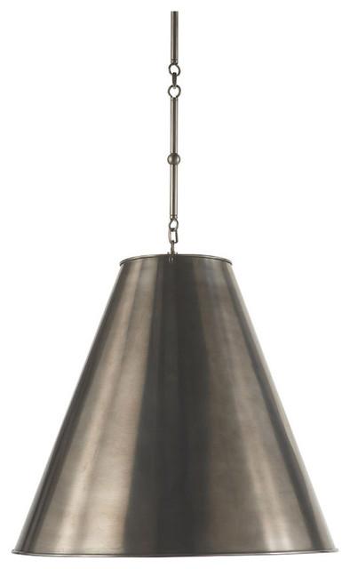 Visual Comfort Lighting Thomas Obrien Goodman 2 Light Hanging Shade.