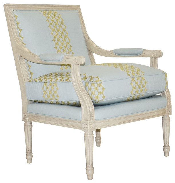 Vanguard Furniture Glimmer Silver Lillian Chair