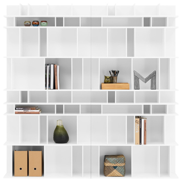 como wall system contemporary bookcases by boconcept uk. Black Bedroom Furniture Sets. Home Design Ideas