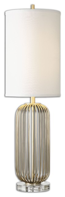 Uttermost Cesinali 1-Light Gold Table Lamp.