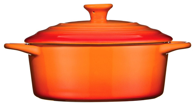 Oven Love Casserole Dish, Graduated Orange.