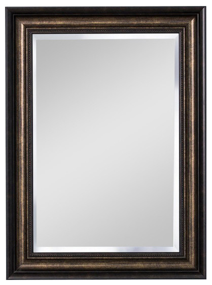 "30""x22"" Recessed/surface Mount Mirror, Bronze."
