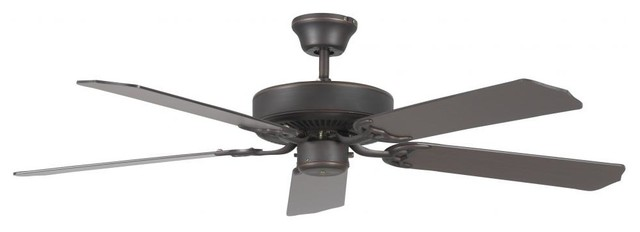 52 Heritage Fan By Concord Fans, Oil Rubbed Bronze Finish.