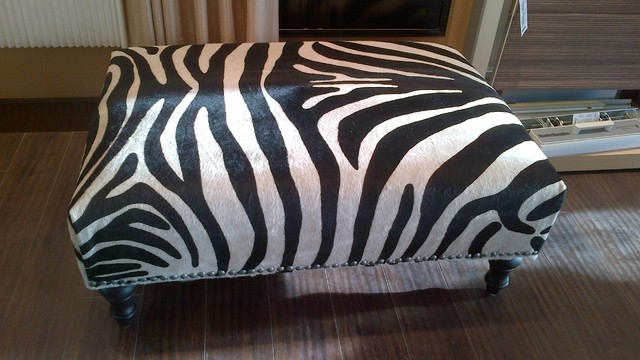 Animal Print Storage Ottoman Zab Living - Zebra Print Coffee Table CoffeTable