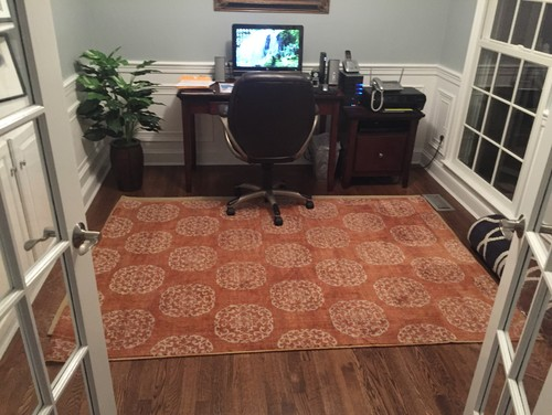 Perfect Best Choice Of Area Rug For Home Office