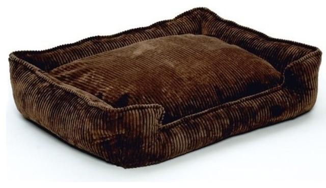 Jax Bones Corduroy Lounge Bed Chocolate Small
