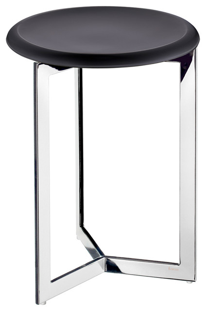 Smedbo - Outline Shower Stool Stainless Steel/Black Werzalit Seat ...