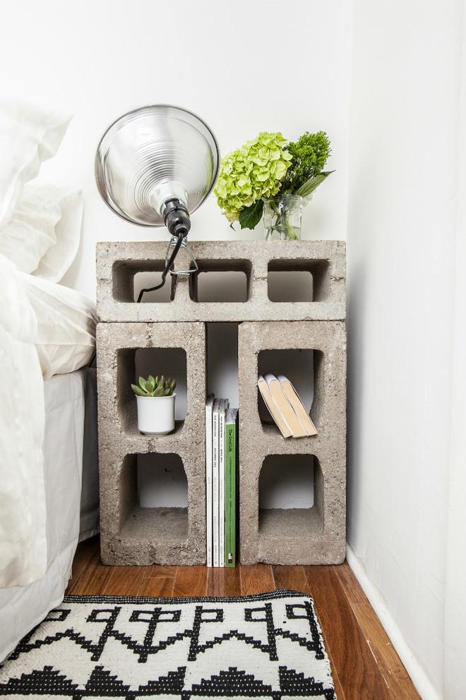 Home design - small eclectic home design idea in New York