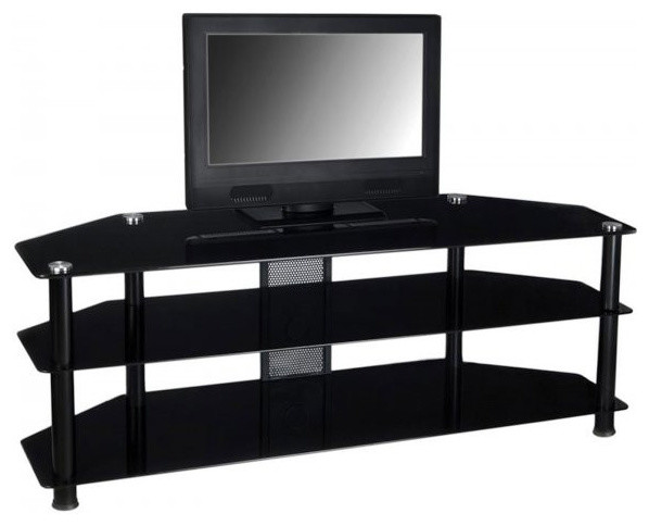 Large flat screen tv console black 225h x 60w x 17d large flat screen tv console black 225h x 60w sciox Image collections