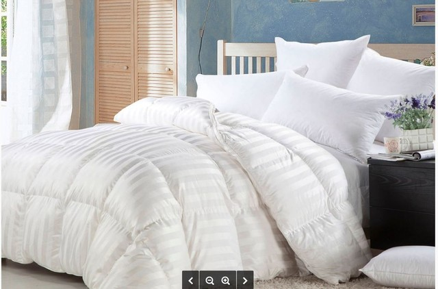 85f7f220be57 Luxurious Siberian Goose Down Comforter 600 Thread Count 750Fp -  Contemporary - Comforters And Comforter Sets - by LUXURY EGYPTIAN BEDDING