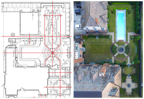 Garden Master Plan: Schematic Design beside a Completed Project!