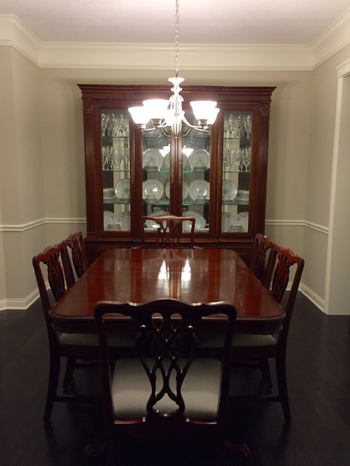 Help Me Make My Dining Room Less Old Fashioned