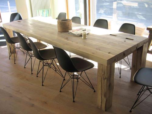 Holztisch modern  Pflegetipps für Holztische?