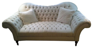 Good Hand Crafted Club Sofa From Arhaus Furniture   $3,000 Est. Retail   $1,750  On Ch