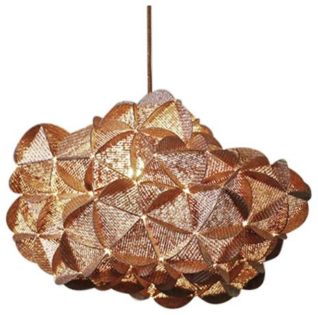 Anne Pierre Malval Ratnapurna Cloud Ceiling Lamp Copper