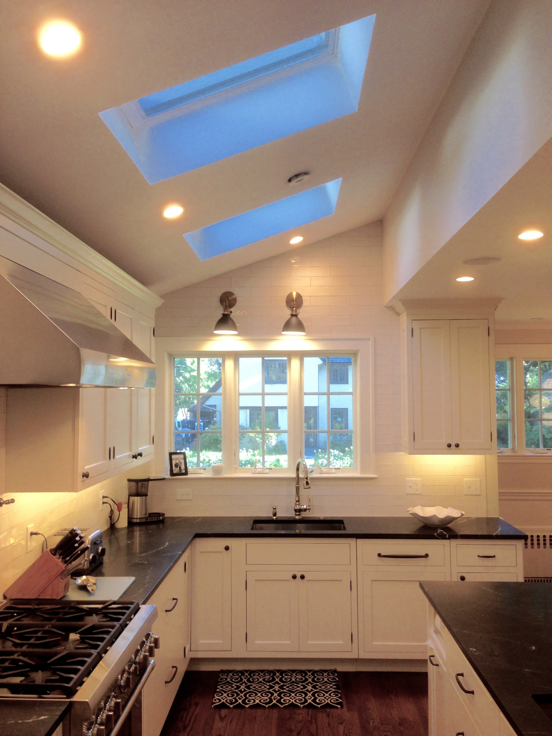 Skylights in Kitchen Addition