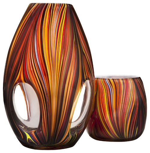 Missoni for Target®: Glass Vase and Votive  candles and candle holders