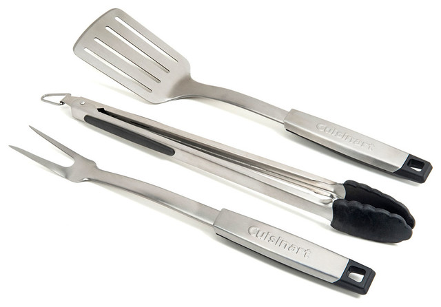 3-Piece Professional Grill Tool Set.
