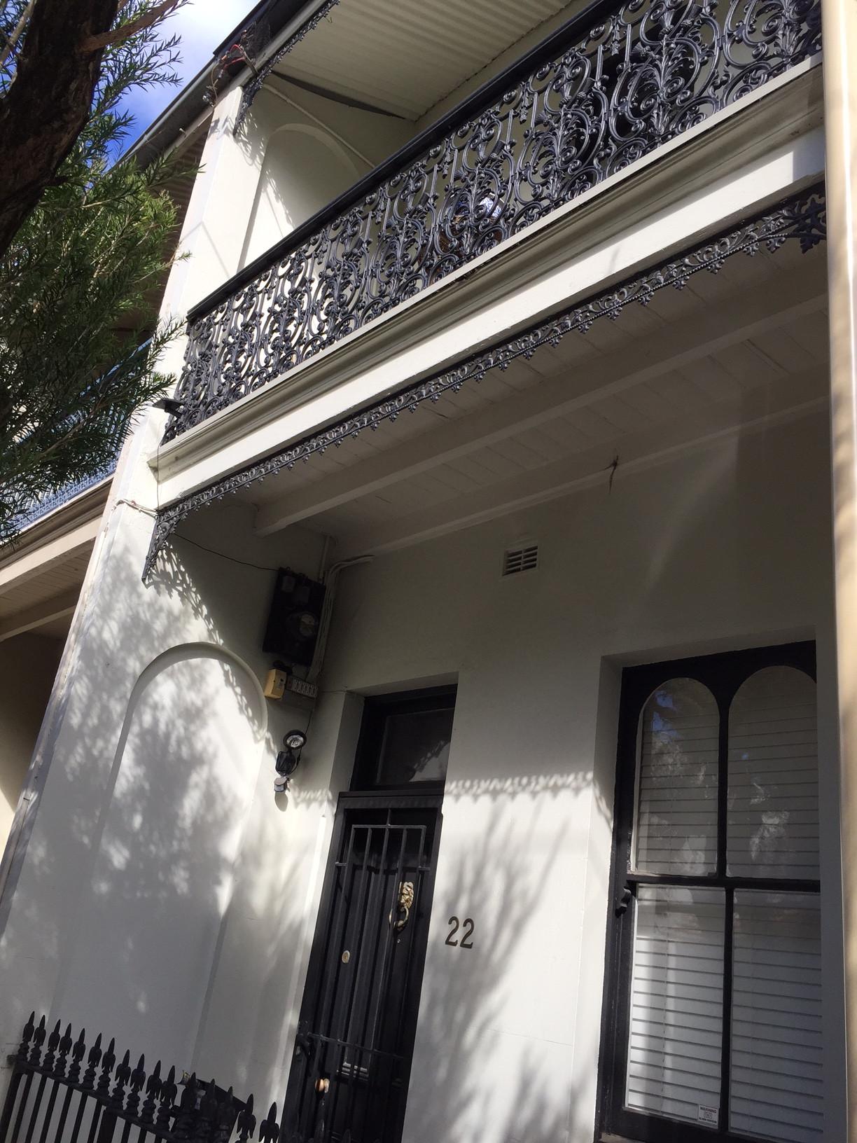 Terrace, exterior, Glebe