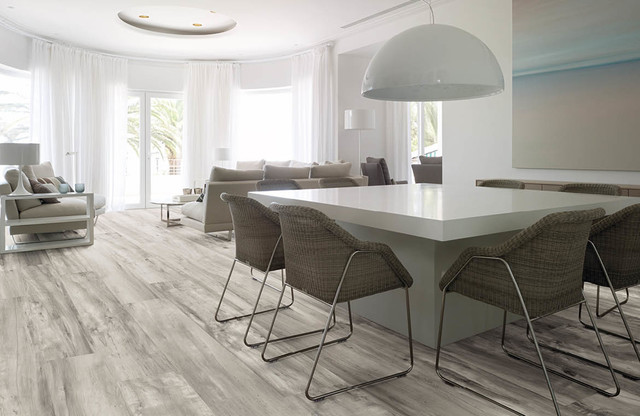 Wood Look Porcelain Tile Floors Contemporary Miami By