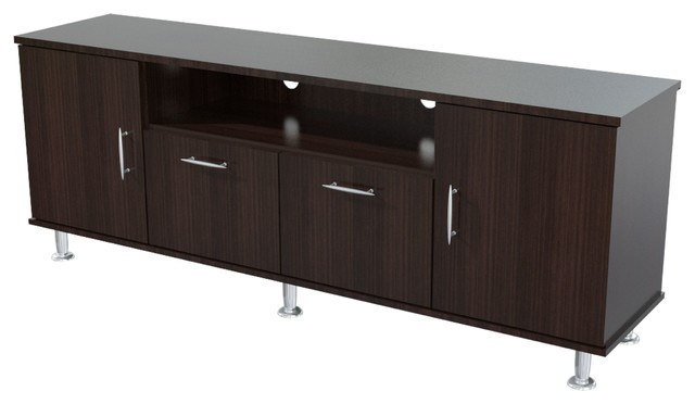 Elegant 60 Inches Flat-Screen TV Stand - Contemporary - Entertainment Centers And Tv Stands - by ...