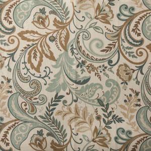 Designer Roman Shades Plain Fold, 45wx57h, Seaglass.