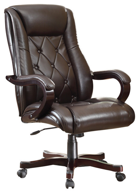 Office Star Products Office Star Chapman Executive Chair Office Chairs Houzz