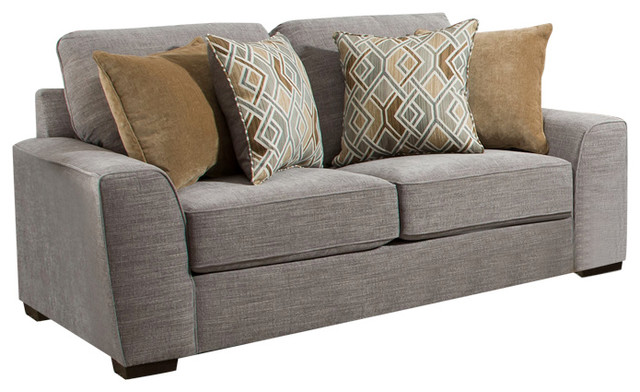 Surprising Simmons Upholstery Pompeii Silver Loveseat Frankydiablos Diy Chair Ideas Frankydiabloscom