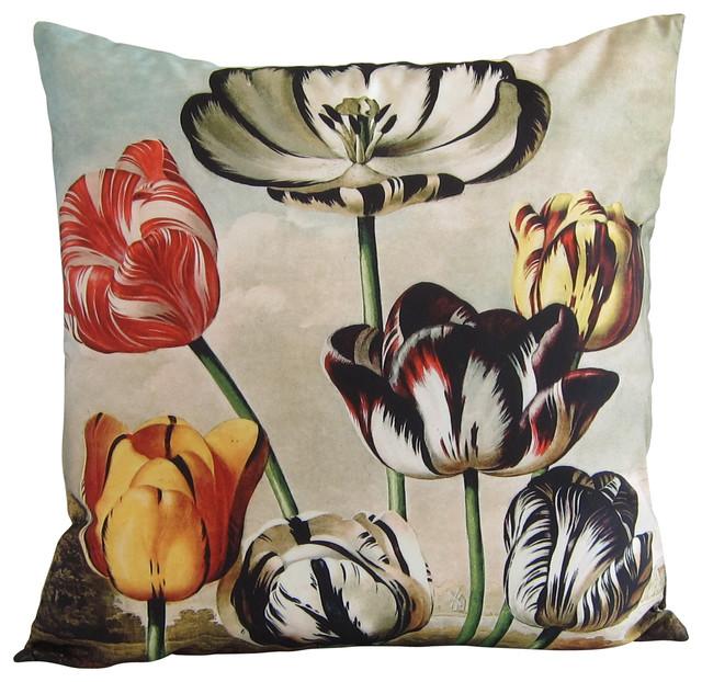 Robert John Thornton Tulip Pillow